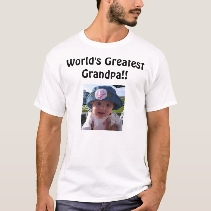 World's Greatest Grandpa!! T-Shirt