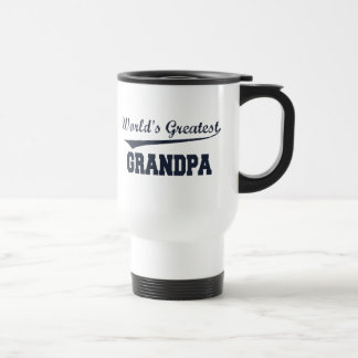 World's Greatest Grandpa travel mug