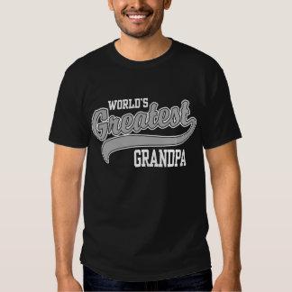 World's Greatest Grandpa Tshirts