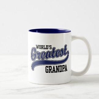 World's Greatest Grandpa Two-Tone Coffee Mug