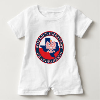 World's Greatest Grandparents Baby Romper