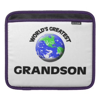 World's Greatest Grandson Sleeves For iPads