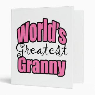 Worlds Greatest Granny Binder