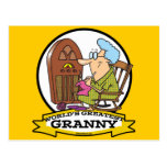 WORLDS GREATEST GRANNY CARTOON POST CARDS