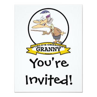 WORLDS GREATEST GRANNY II CARTOON CARD