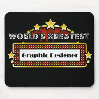 World's Greatest Graphic Designer Mouse Pad