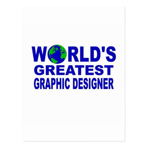 World's Greatest Graphic Designer Postcards