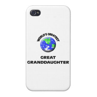 World's Greatest Great Granddaughter Case For iPhone 4
