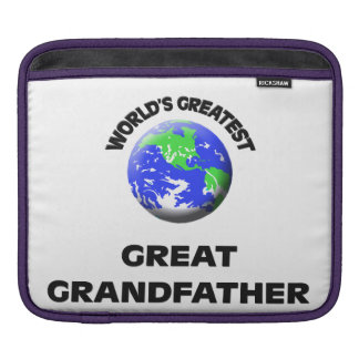 World's Greatest Great Grandfather Sleeves For iPads