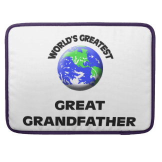 World's Greatest Great Grandfather Sleeve For MacBook Pro