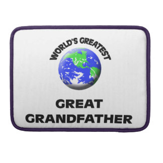 World's Greatest Great Grandfather MacBook Pro Sleeves