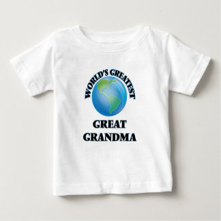 World's Greatest Great Grandma Baby T-Shirt