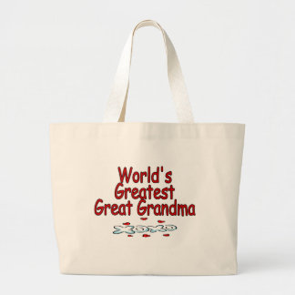 World's Greatest Great Grandma Bag