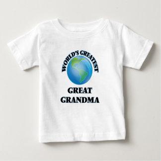 World's Greatest Great Grandma Tee Shirts