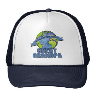 World's Greatest Great Grandpa Trucker Hat