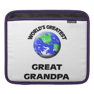 World's Greatest Great Grandpa iPad Sleeve