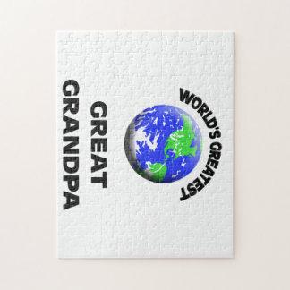 World's Greatest Great Grandpa Puzzle