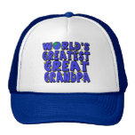 World's Greatest Great Grandpa Trucker Hat