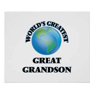 World's Greatest Great Grandson Poster