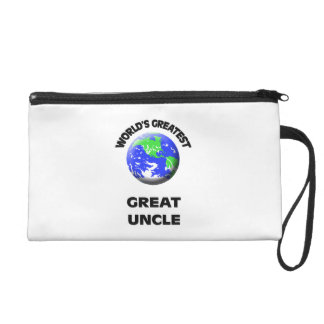 World's Greatest Great Uncle Wristlet Clutches