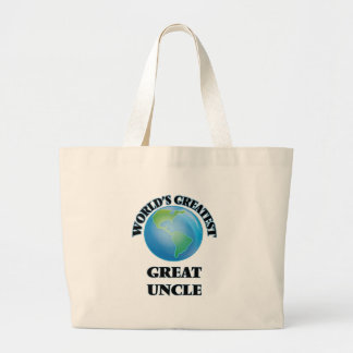 World's Greatest Great Uncle Tote Bag