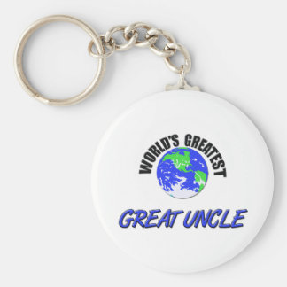 World's Greatest Great Uncle Keychain