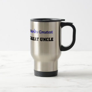World's Greatest Great Uncle 15 Oz Stainless Steel Travel Mug