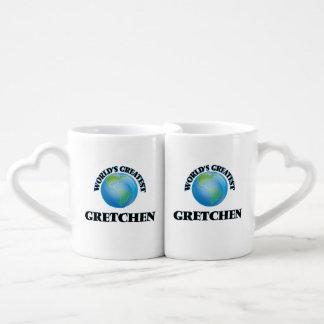 World's Greatest Gretchen Lovers Mug Set