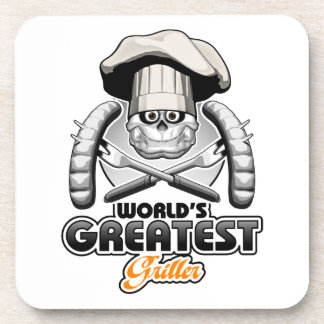 World's Greatest Griller v2 Beverage Coaster