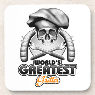World's Greatest Griller v6 Coaster
