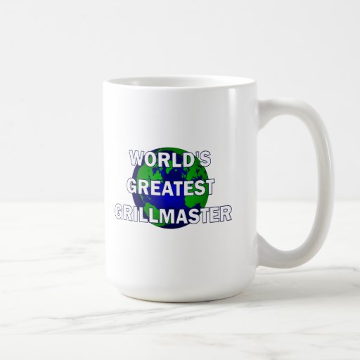 World's Greatest Grillmaster Coffee Mug