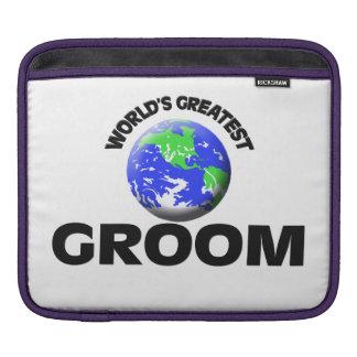 World's Greatest Groom iPad Sleeve