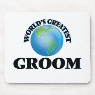 World's Greatest Groom Mouse Pads