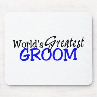 Worlds Greatest Groom Mousepad