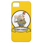 WORLDS GREATEST GRUMPY FOREMAN MEN CARTOON iPhone 5 COVERS
