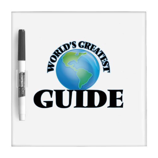 World's Greatest Guide Dry-Erase Board