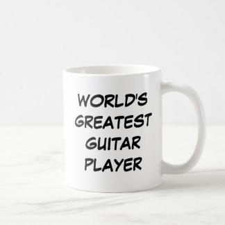 """World's Greatest Guitar Player"" Mug"