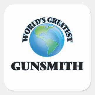 World's Greatest Gunsmith Square Sticker