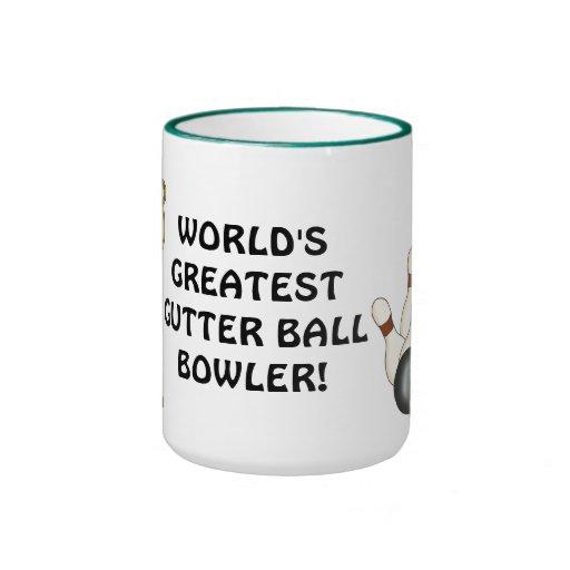 World's Greatest Gutter Ball Bowler coffee mug