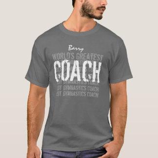 World's Greatest GYMNASTICS Coach GRAY V05 T-Shirt