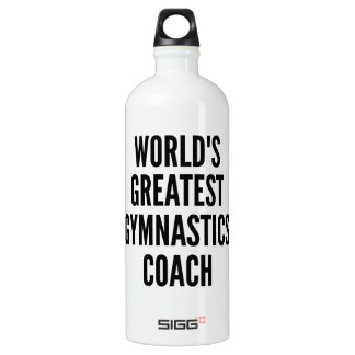 Worlds Greatest Gymnastics Coach Water Bottle