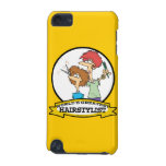 WORLDS GREATEST HAIRSTYLIST WOMEN CARTOON iPod TOUCH (5TH GENERATION) COVER
