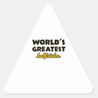 World's greatest half-sister triangle sticker