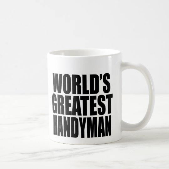 World's Greatest Handyman Coffee Mug
