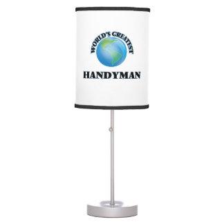World's Greatest Handyman Desk Lamp