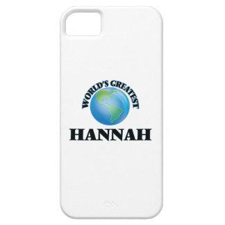 World's Greatest Hannah iPhone 5 Cases