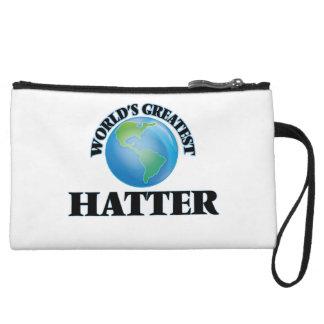 World's Greatest Hatter Wristlet Clutches
