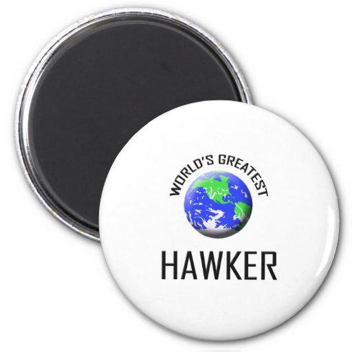 World's Greatest Hawker Fridge Magnets