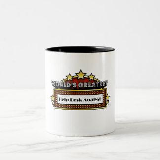 World's Greatest Help Desk Analyst Coffee Mugs