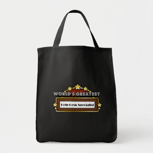 World's Greatest Help Desk Specialist Bag